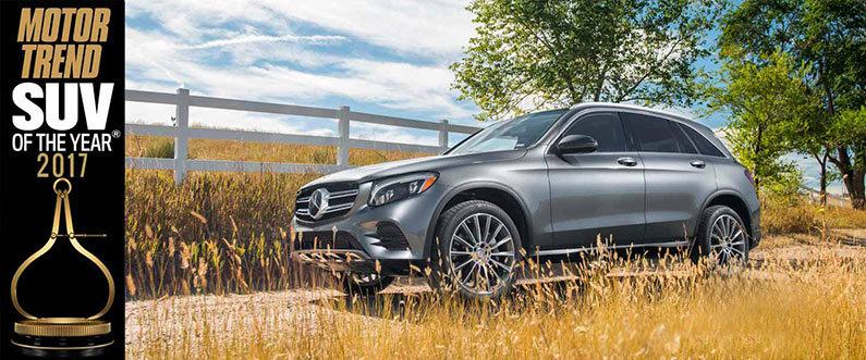 Mercedes Benz Glc Wins 2017 Suv Of The Year Mercedes